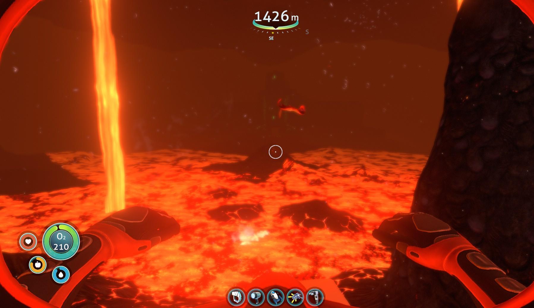 The floor is lava greedy goblin for Lava parquet